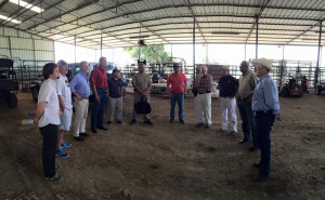 hosted cattleman from Argentina